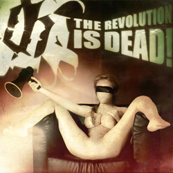 "Blutmond - ""The Revolution is Dead!"" CD cover image - Click to read review"