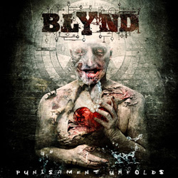 "Blynd - ""Punishment Unfolds"" CD cover image - Click to read review"