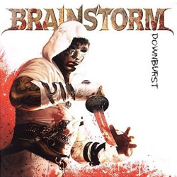 "Brainstorm - ""Downburst"" CD cover image"