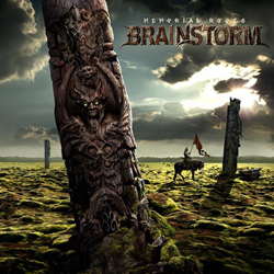 "Brainstorm - ""Memorial Roots"" CD cover image - Click to read review"