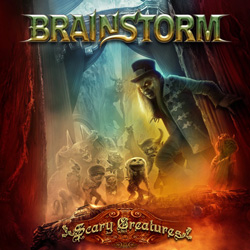 "Brainstorm - ""Scary Creatures"" CD cover image - Click to read review"