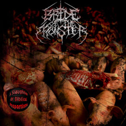 "Bride of the Monster - ""A Slaughter of Biblical Proportions"" CD cover image"