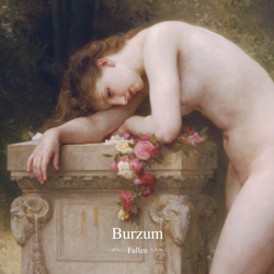 "Burzum - ""Fallen"" CD cover image - Click to read review"