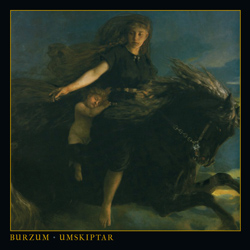 "Burzum - ""Umskiptar"" CD cover image - Click to read review"