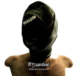 "Byzantine - ""Oblivion Beckons"" CD cover image - Click to read review"