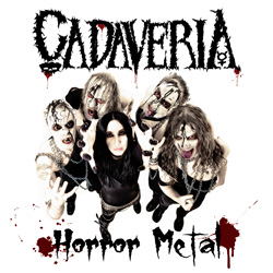"Cadaveria - ""Horror Metal"" CD cover image - Click to read review"