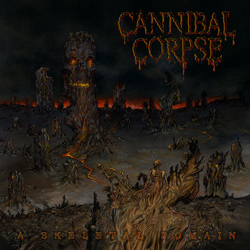 "Cannibal Corpse - ""A Skeletal Domain"" CD cover image - Click to read review"