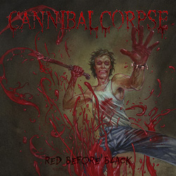 "Cannibal Corpse - ""Red Before Black"" CD cover image"