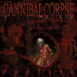 "Cannibal Corpse - ""Torture"" CD cover image - Click to read review"