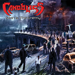 "Canobliss - ""Man Is The Enemy"" CD cover image"