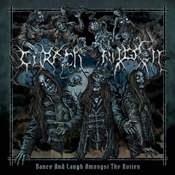 "Carach Angren - ""Dance and Laugh Amongst the Rotten"" CD cover image"