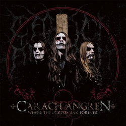 "Carach Angren - ""Where The Corpses Sink Forever"" CD cover image - Click to read review"