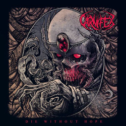 "Carnifex - ""Die Without Hope"" CD cover image"