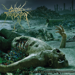 "Cattle Decapitation - ""The Anthropocene Extinction"" CD cover image"