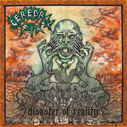 "Cerebral Fix - ""Disaster Of Reality"" CD cover image - Click to read review"
