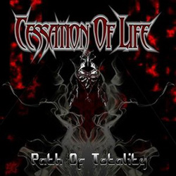 "Cessation of Life - ""Path Of Totality"" CD cover image - Click to read review"