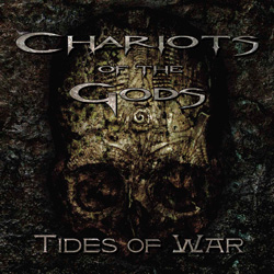 "Chariots of the Gods - ""Tides of War"" CD cover image - Click to read review"