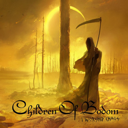 "Children of Bodom - ""I Worship Chaos"" CD cover image - Click to read review"