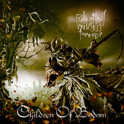 "Children of Bodom - ""Relentless Reckless Forever"" CD cover image - Click to read review"
