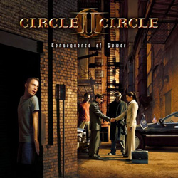 "Circle II Circle - ""Consequence Of Power"" CD cover image - Click to read review"