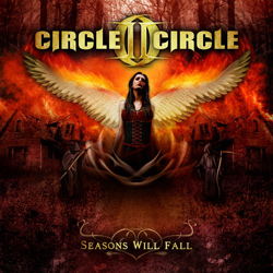 "Circle II Circle - ""Seasons Will Fall"" CD cover image"