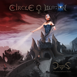"Circle of Illusion - ""Jeremias - Foreshadow of Forgotten Realms"" CD cover image - Click to read review"