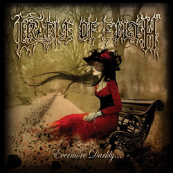 "Cradle Of Filth - ""Evermore Darkly..."" CD/EP cover image"