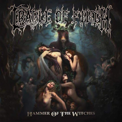 "Cradle Of Filth - ""Hammer of the Witches"" CD cover image - Click to read review"