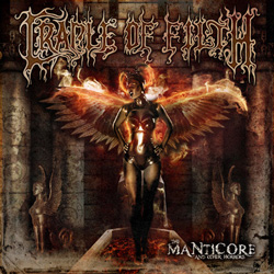 "Cradle Of Filth - ""The Manticore & Other Horrors"" CD cover image - Click to read review"