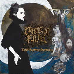 "Cradle Of Filth - ""Total Fucking Darkness (Reissue)"" CD cover image - Click to read review"