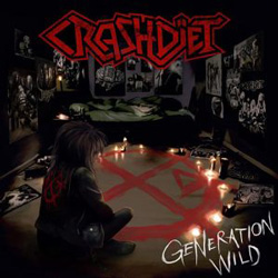 "Crashdiet - ""Generation Wild"" CD cover image - Click to read review"