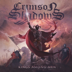 "Crimson Shadows - ""Kings Among Men"" CD cover image"