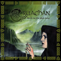 "Cruachan - ""Blood on the Black Robe"" CD cover image - Click to read review"
