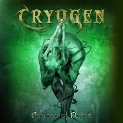 "Cryogen - ""Psalms Of Deceit (re-release)"" CD/EP cover image - Click to read review"