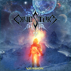 "Cryostorm - ""Version"" CD cover image - Click to read review"