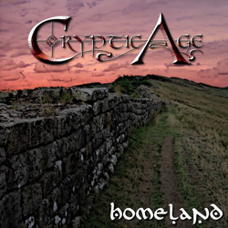 "Cryptic Age - ""Homeland"" CD/EP cover image"