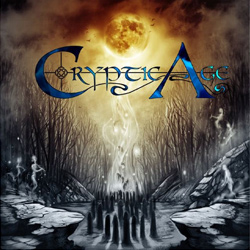 "Cryptic Age - ""Sounds of Infinity"" CD cover image"