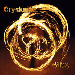 "Crysknife - ""Mythos"" CD cover image - Click to read review"