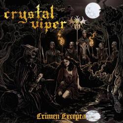 "Crystal Viper - ""Crimen Excepta"" CD cover image - Click to read review"