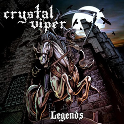 "Crystal Viper - ""Legends"" CD cover image - Click to read review"
