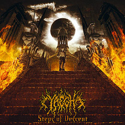 "Cyaegha - ""Steps of Descent"" CD cover image - Click to read review"