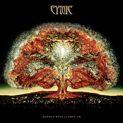 "Cynic - ""Kindly Bent To Free Us"" CD cover image"