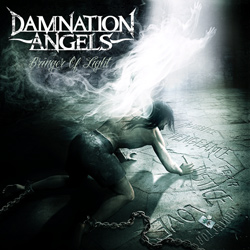 "Damnation Angels - ""Bringer Of Light"" CD cover image - Click to read review"