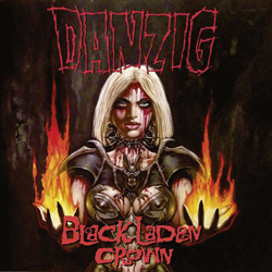 "Danzig - ""Black Laden Crown"" CD cover image - Click to read review"