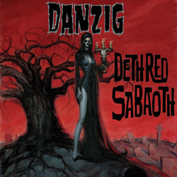 "Danzig - ""Deth Red Sabaoth"" CD cover image"