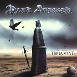 "Dark Avenger - ""Tales Of Avalon: The Lament"" CD cover image"