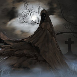 "Darkblack - ""Midnight Wraith"" CD/EP cover image - Click to read review"