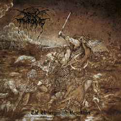 "Darkthrone - ""The Underground Resistance"" CD cover image - Click to read review"