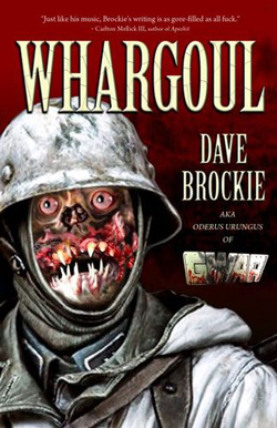 "Dave Brockie - ""Warghoul"" Book cover image"