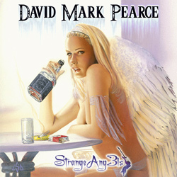 "David Mark Pearce - ""Strange Ang3ls"" CD cover image"